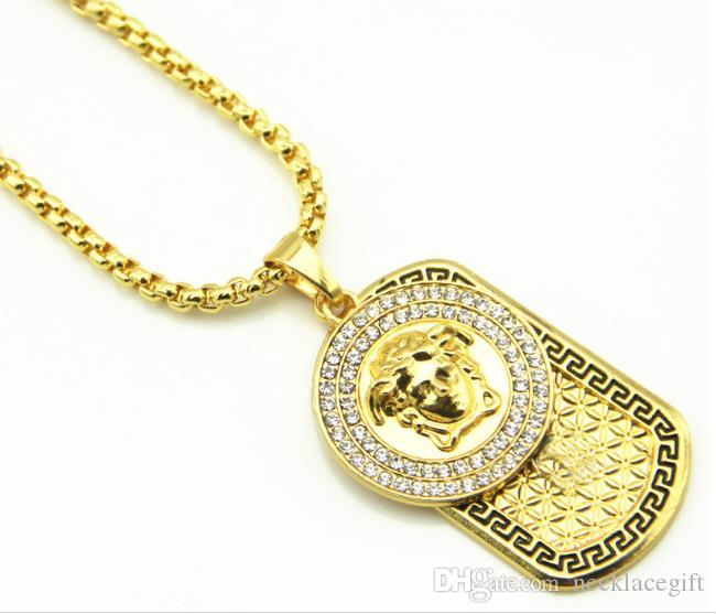 New year high quality 20k Gold Plated angel Pendant Set auger letter beauty Necklace Fashion Jewelry Gift army Present souvenir necklacews