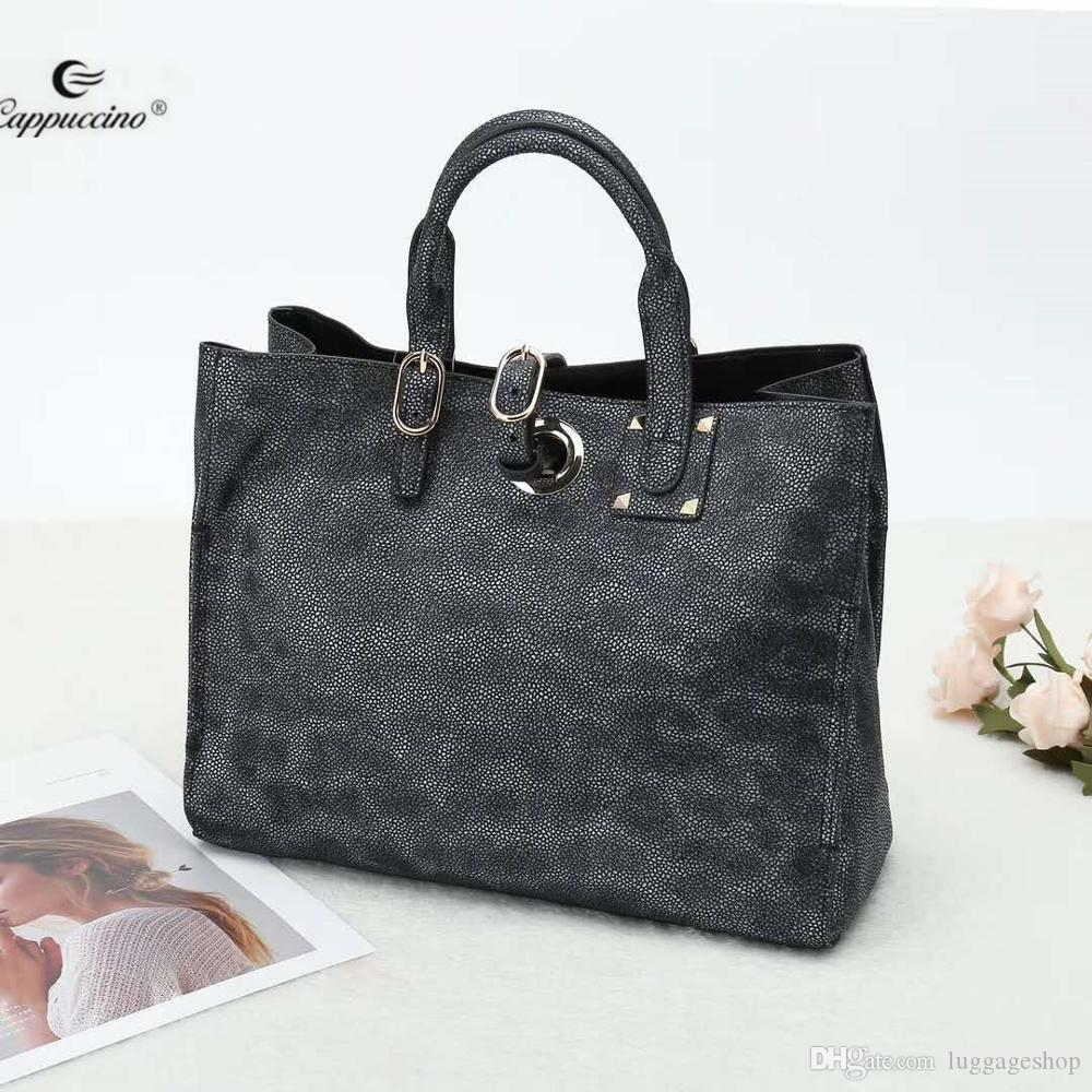 2018 New Design Alibaba Online Shopping Supply Ladies Long Belt Big  Capacity Bags Genuine Leather Handbag For Women Black Bags Crossbody Purse  From ... 7b07f197d0