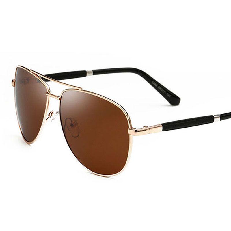 3a2ff404e0d New Design Pilot Polarized Sunglasses For Men Driving Polarized Metal  Travel Classic Sun Glasses Male Fishing Eyeglasses Reading Glasses  Prescription ...