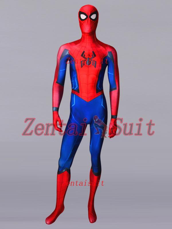 Compre Posible Spider Man Homecoming Sequel Traje Spandex Lycra Traje De  Spiderman Cosplay Zentai Traje Para Adultos   Niños   Envío Gratis Por  Encargo A ... 6bc825866b1