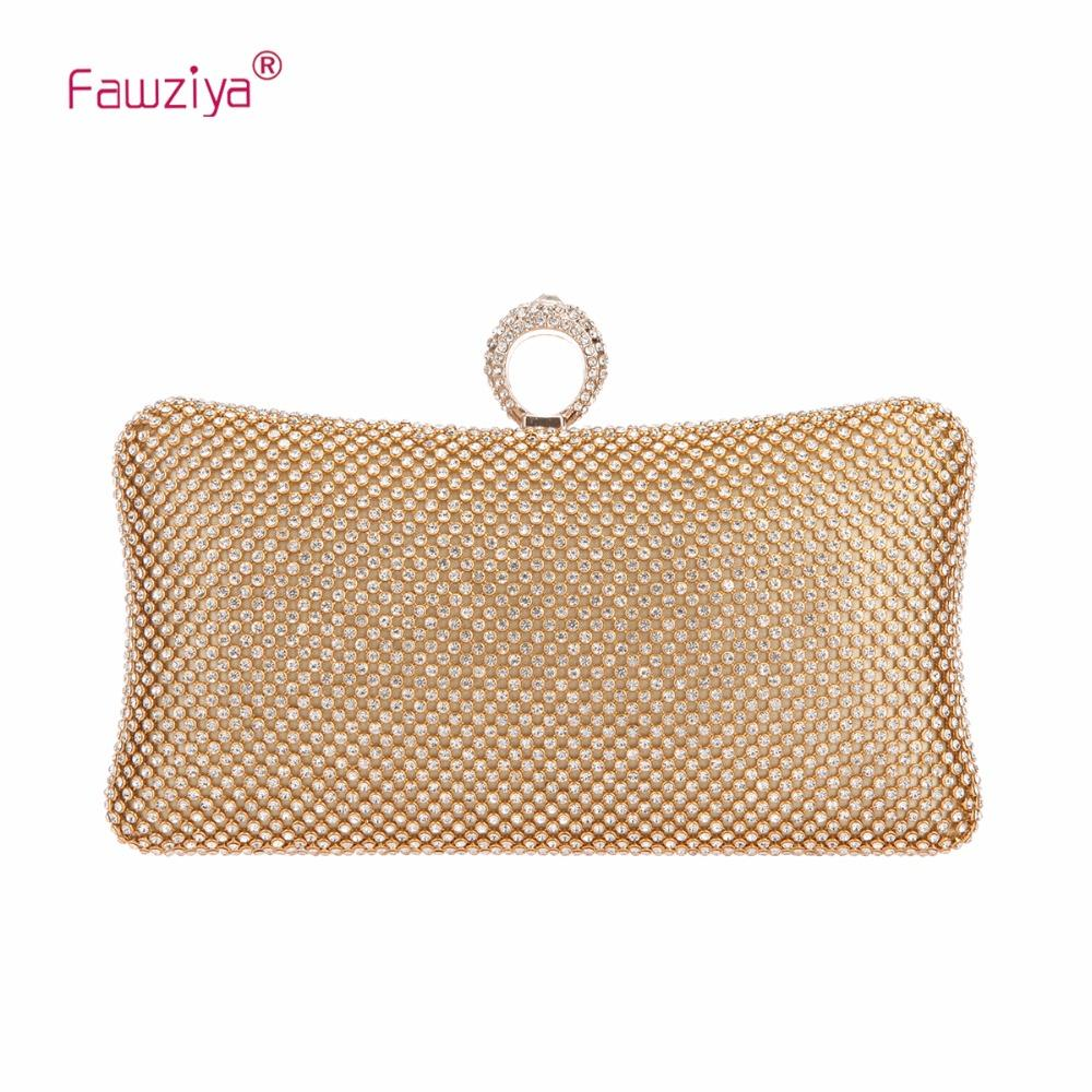 711f77293e Fawziya Bling Ring Clutch Purse Women Rhinestone Clutch Evening Bags And  Clutches Wholesale Bags Black Handbag From Lbdshoes