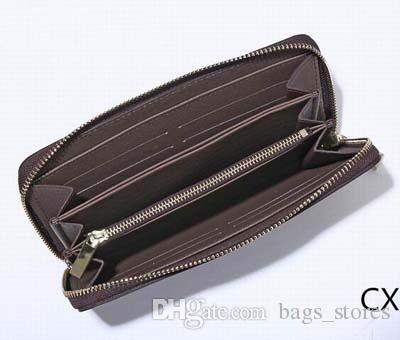 Fashion Long Wallets Women Famous Purse Zipper leather Ladies Brand Designer Classic Purses Luxury Clutch Carteras G1020 for sale