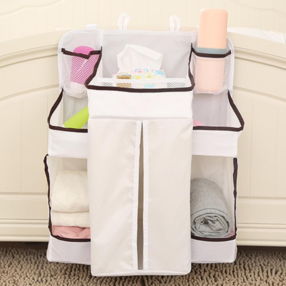 05dd4426f Baby Crib Children s Bed Hanging Bag Portable Diapers Bedside ...