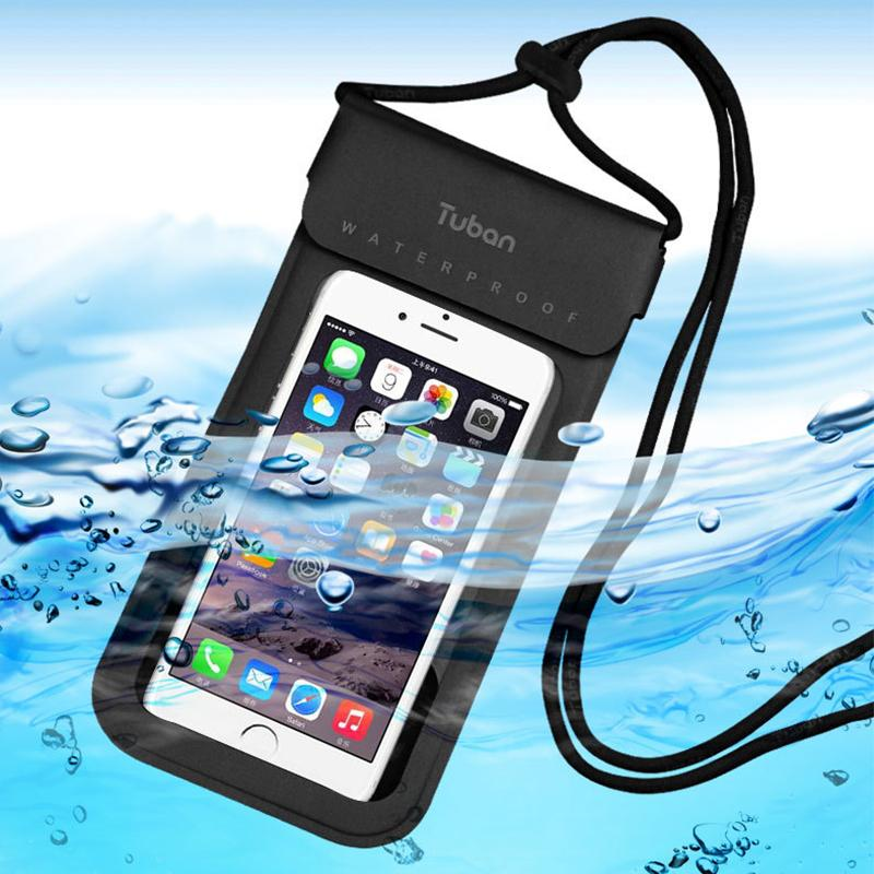 huge selection of 9930a ef368 Universal Waterproof Phone Case Cover for iphone 6/6S/7/8 Water Proof  Underwater Transparent Pouch Bag for Huawei p7 Mate 9