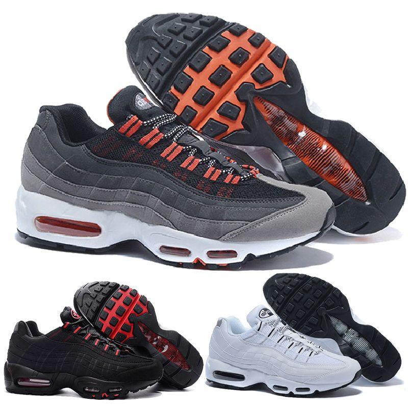 lowest price 92a1f 2fb0b Walk Shoes Sneakers Nike Air Max Airmax 95 Nuevo 20th Anniversary Mid Shoe  95s Sneakerboot 95 Negro Blanco Armymen Otoño Invierno Amortiguador De Aire  ...
