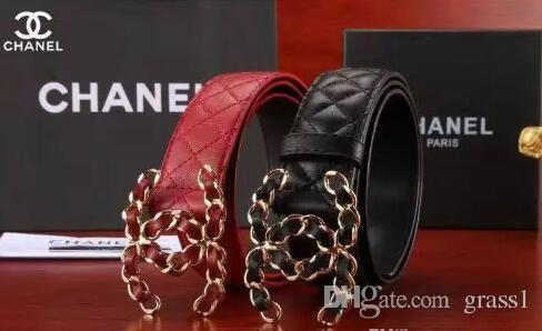 Summer Fashion Women Luxury Belts Female Patent Leather Designer Slim Dress  Belt Ladies Rose Gold Buckle Waist Belts+box Online with  73.06 Piece on ... 49a4a57d39
