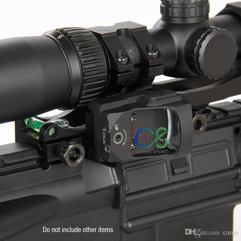 Adjustable ADI Rifle Scope Mounts 30mm/25.4m rings rifleScope with Bubble Level CL24-0207