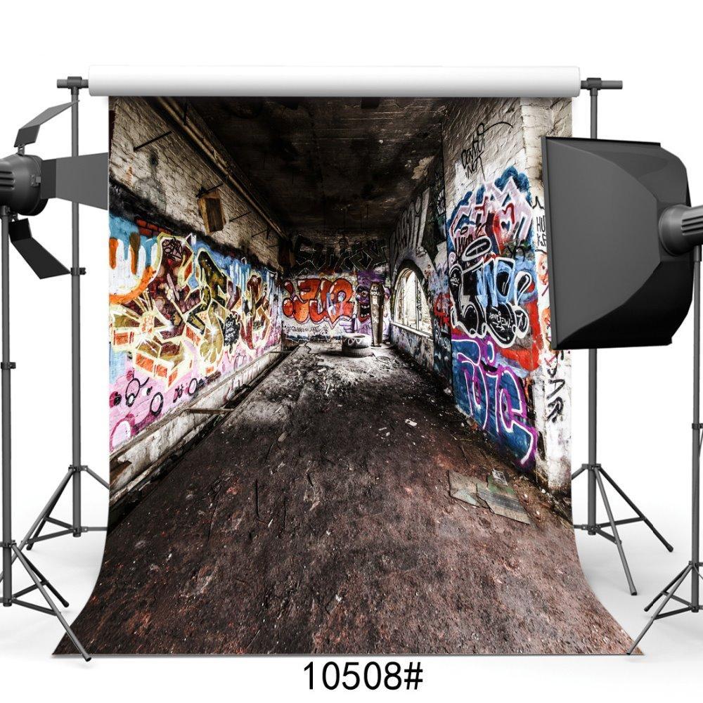 Grosshandel Innengraffiti Fotografie Hintergrund Foto Hintergrund Fur
