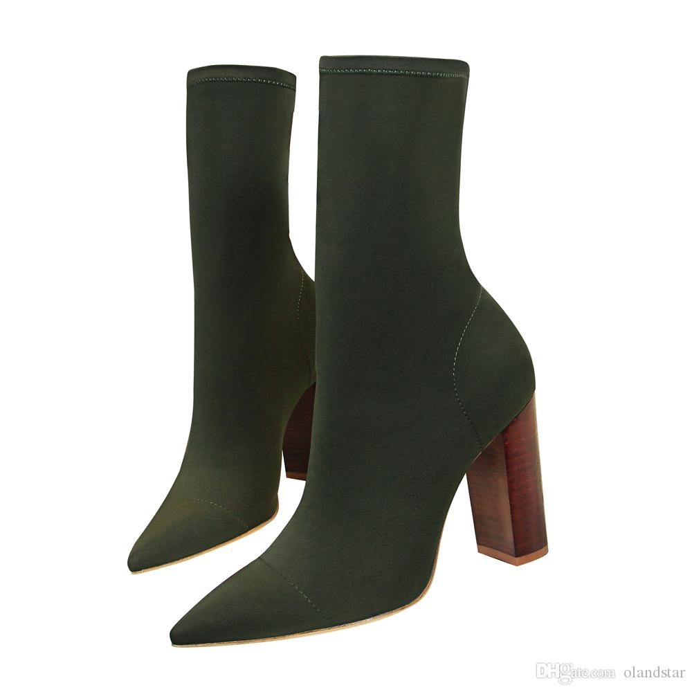 Talons Lady Hauts Habillées Sexy Acheter Chaussures Boot Pompes Demi  56xngwqS0 ee66ee141e01