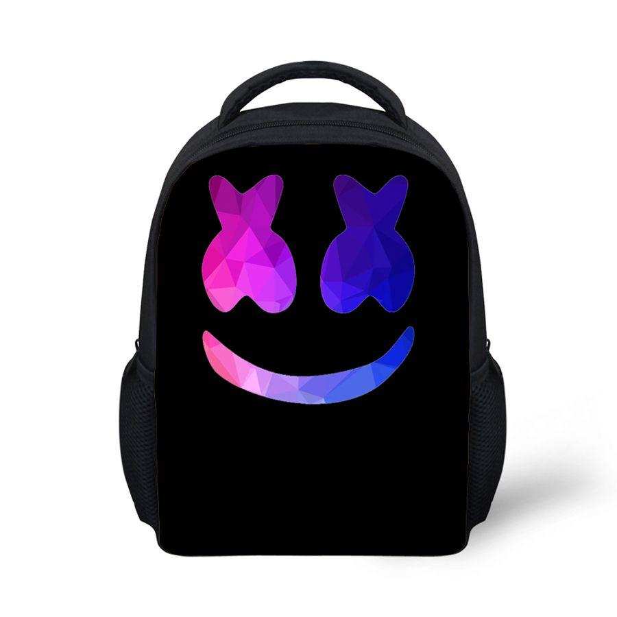 92fecc1656b Mask DJ Printing Black Horse School Bag Cute Toddler Kids Bookbag Child Baby  Bear Bookbag Mochila Escolar Marshmello Backpack Kids Buy Backpacks From ...
