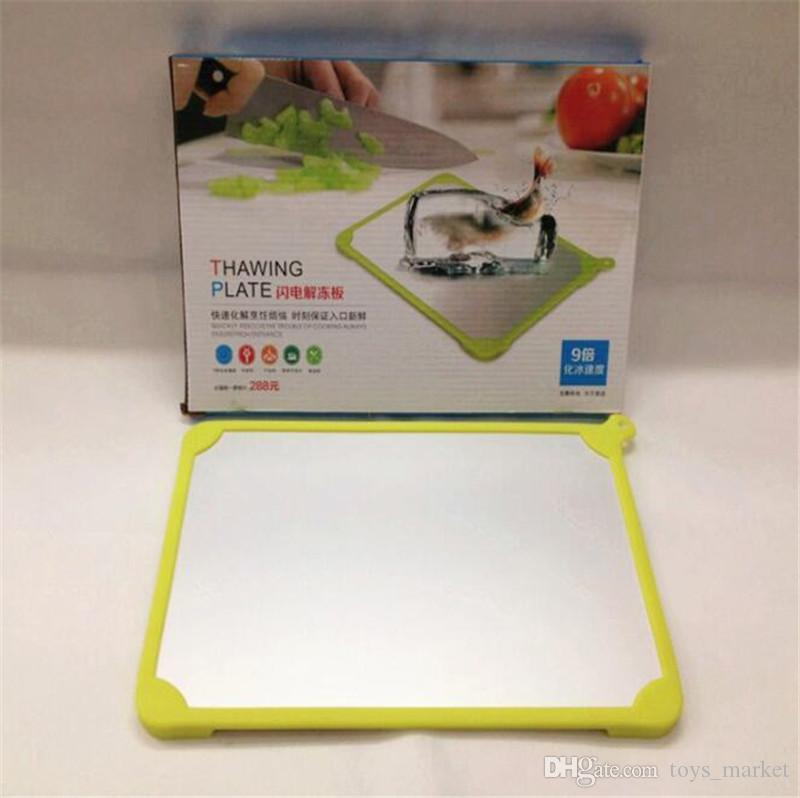 2020 Natural Thawing Plate Fast Defrosting Tray Quick
