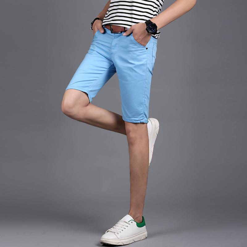 2fbf7637442d 2019 2018 Mens Shorts New Summer Fashion Casual Cotton Slim Bermuda  Masculina Beach Shorts Joggers Trousers Male From Beltloop