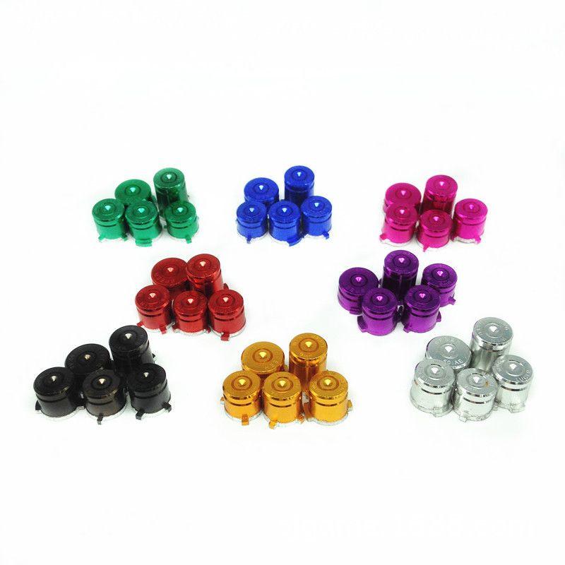 5шт/комплект алюминий металл пуля кнопки 9мм Luger ABXY и Шпеер руководство кнопки комплект для Xbox один контроллер высокое качество быстрый корабль