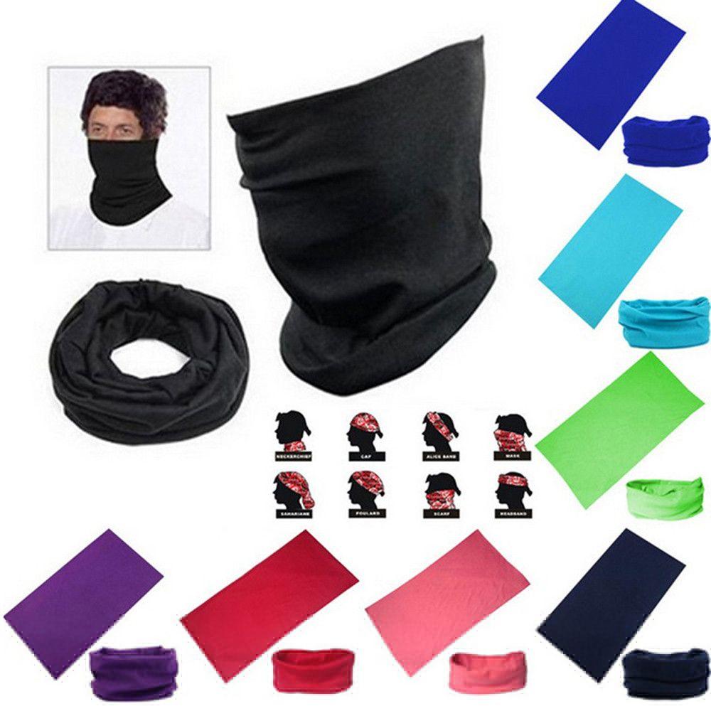 2019 Multiuse Unisex Outdoor Scarf Tube Magic Outdoor Bandanas Snood  Headwear Winter Face Mask Helmet Dustproof Windproof Ski Mask P  From  Lookest c9dddbaef2bb