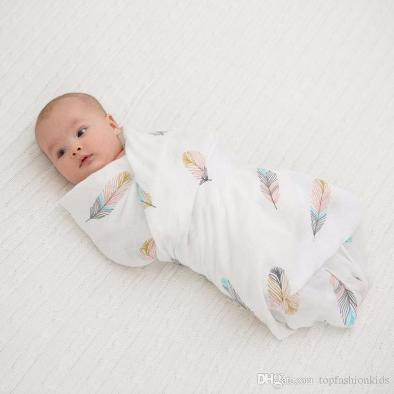 Baby Swaddle Wrap Stroller Cover Newborn Blanket Cotton Muslin