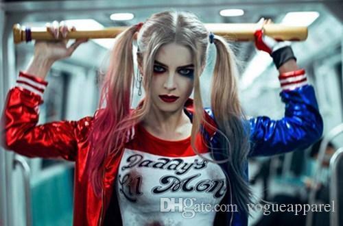 Acheter Nouvelle Costume Femmes Halloween Cosplay Tenues Harley