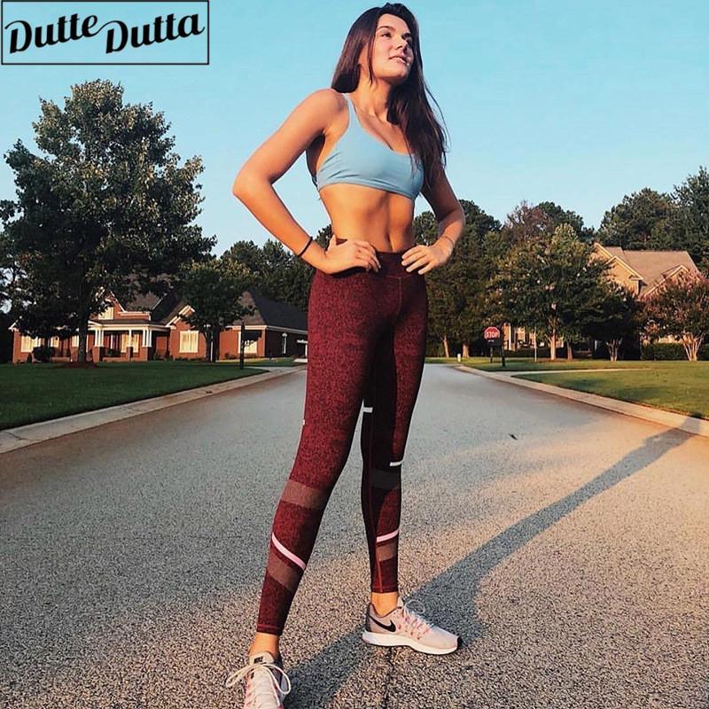 515cb4ddda 2019 Mid Rise Sport Leggings Slimming Workout Gym Leggings Yoga Legging  Fitness Push Up Yoga Pants Active Wear Soft Women Sport Pants From Jinzoug,  ...