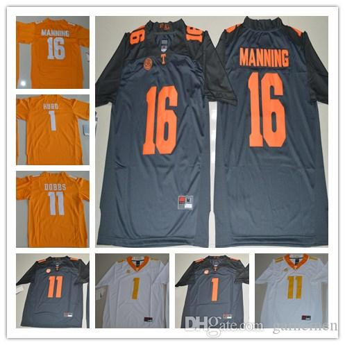 online store afd46 340e3 Youth 16 Peyton Manning 1 Jalen Hurd 11 Joshua Dobbs Tennessee Volunteers  ncaa College Football Jerseys Cheap All Stitched kids jerseys