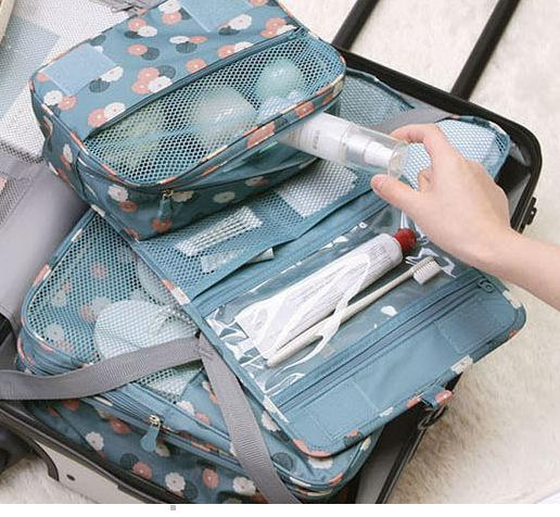 2fbbe64fd118 Travel Set High Quality Waterproof Portable Man Toiletry Bag Women Cosmetic  Organizer Pouch Hanging Wash Bags Makeup Storage Bag Shoe Bags Cosmetic  Case ...
