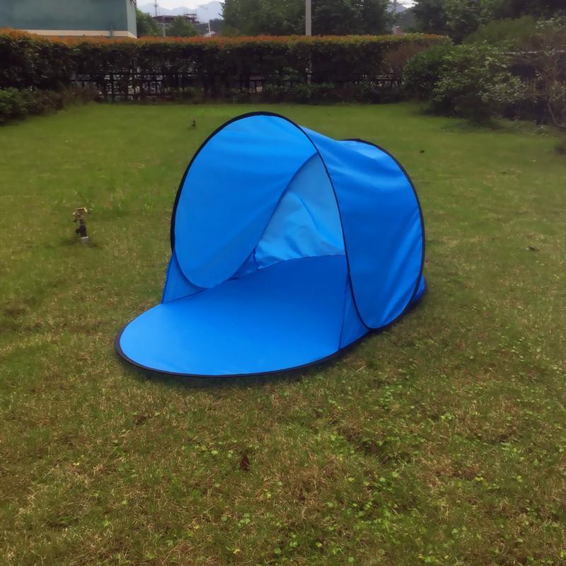 wholesale dealer 3fc57 cf9a4 Sun Shelter Foldable Tent For Beach Summer Outdoor UV Tarp Sun Shade Pop Up  Cabana Camping Awning Sunshade Beach Tents Canopy