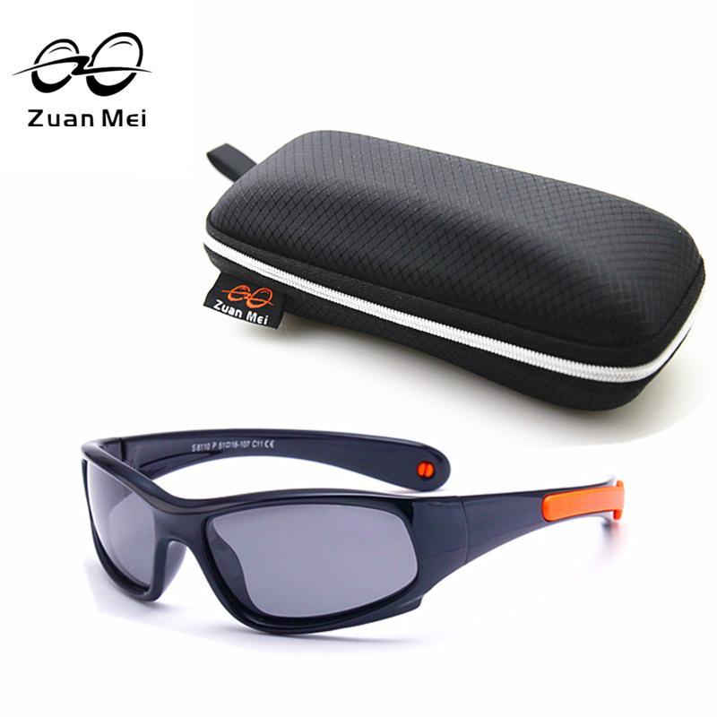 91427977eb7 New Top Quality Kids TAC Polarized Kids Sunglasses UV400 Boy Girls ...