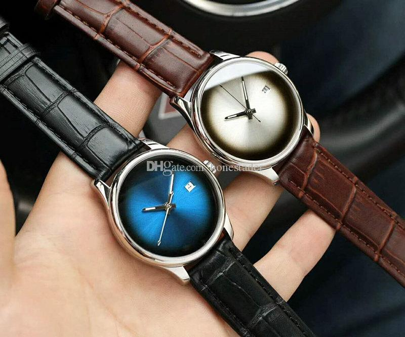 2018 New Men S Watch Minimalist Three Needle Watch Sapphire Glass