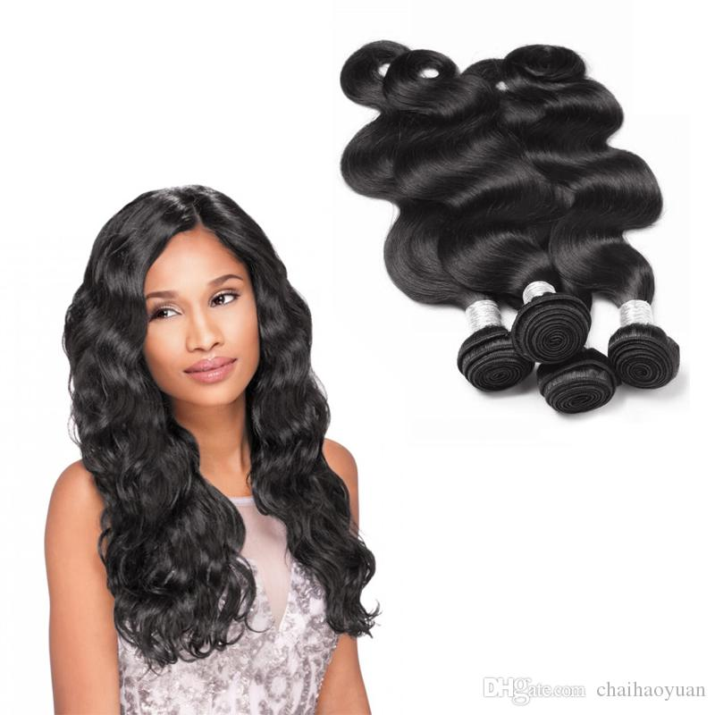 Beautiful Brazilian Hair Weave Fashionable Malaysian Body Wave