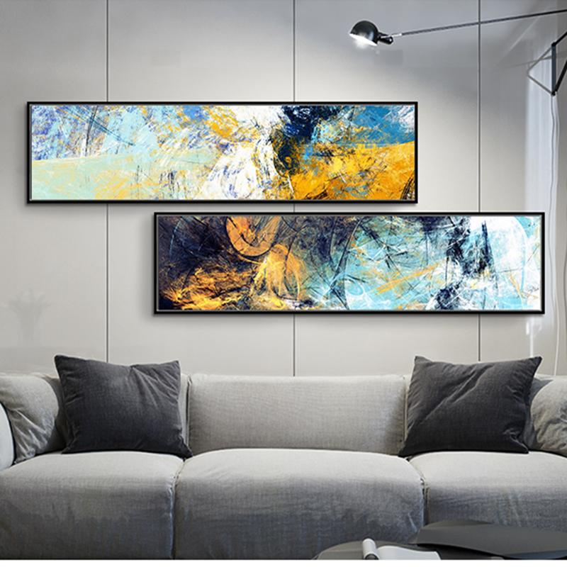 2019 2 Panel Set Real Handpainted Modern Abstract Wall Art Oil Painting High Quality Home Decor On Canvas Multi Sizes L64 From Bstshopping 4885