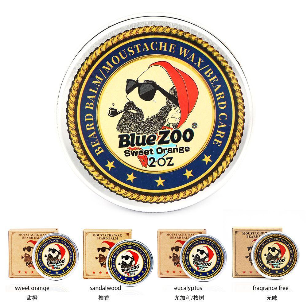 31307c66a670 Compre Blue Zoo Bigote Cuidado Barba Crema 60g Cera De Afeitar Sin Olor  Sándalo Naranja Eucalipto 4 Sabores Hidratar Venta Caliente Envío Gratis A   7.11 Del ...