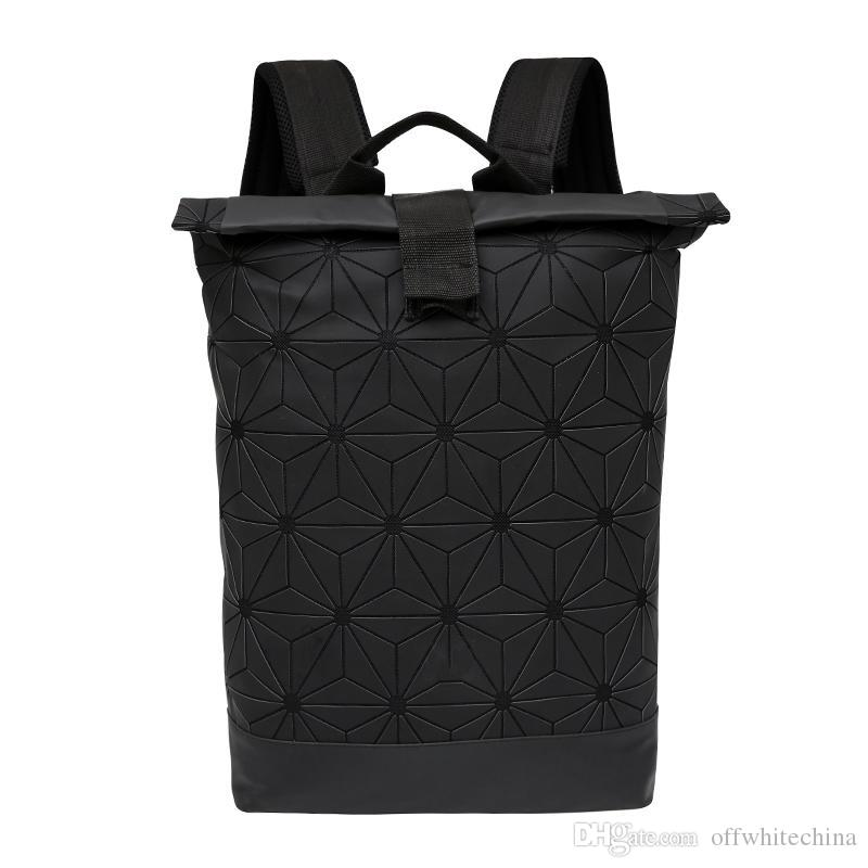 New Style Geometric Patterns Backpacks Sport Packs Black Mens Bag Womens  Training Backpack Travel Bags Outdoor Packs Cute Backpacks Hiking Backpack  From ... a79a7c6546e9b
