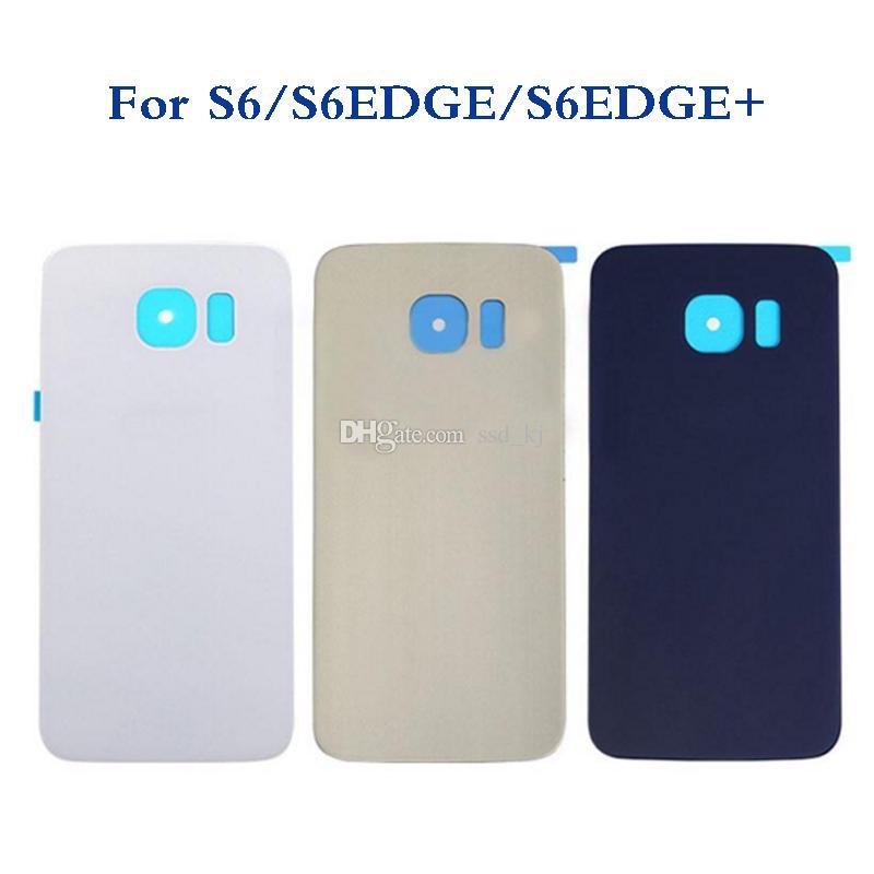 9cd8d547196 Diseños Para Fundas De Celular Carcasa Para Samsung Galaxy S6 Edge Plus  G920 G950 G980 Carcasa De La Puerta De La Batería De Vidrio Contraportada  CaseLogo + ...