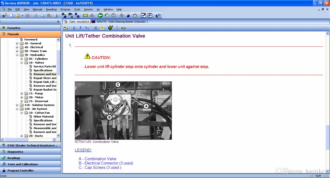 John Deere Service ADVISOR v4 2 AG 05 2016 CF 05 2016 CCE 05 2016 Activator  HDD500GB