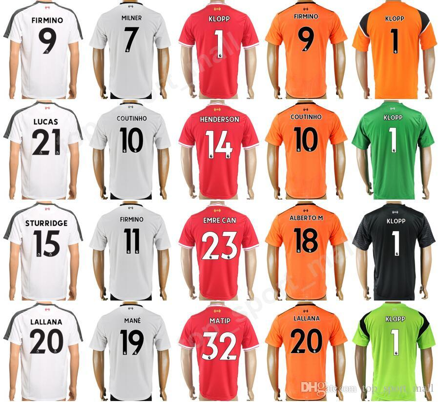 watch 3c992 d62b8 Soccer 9 Roberto Firmino Jersey Custom 2018 2019 Men 20 LALLANA Football  Shirt Thai 10 COUTINHO 11 FIRMINO 19 MANE 7 MILNER 23 EMRE CAN