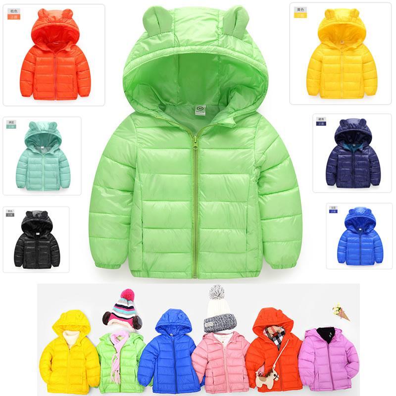 88b4433c9d6a Children S Down Jackets Brand 90% Duck Feather Ultra Light Boys ...