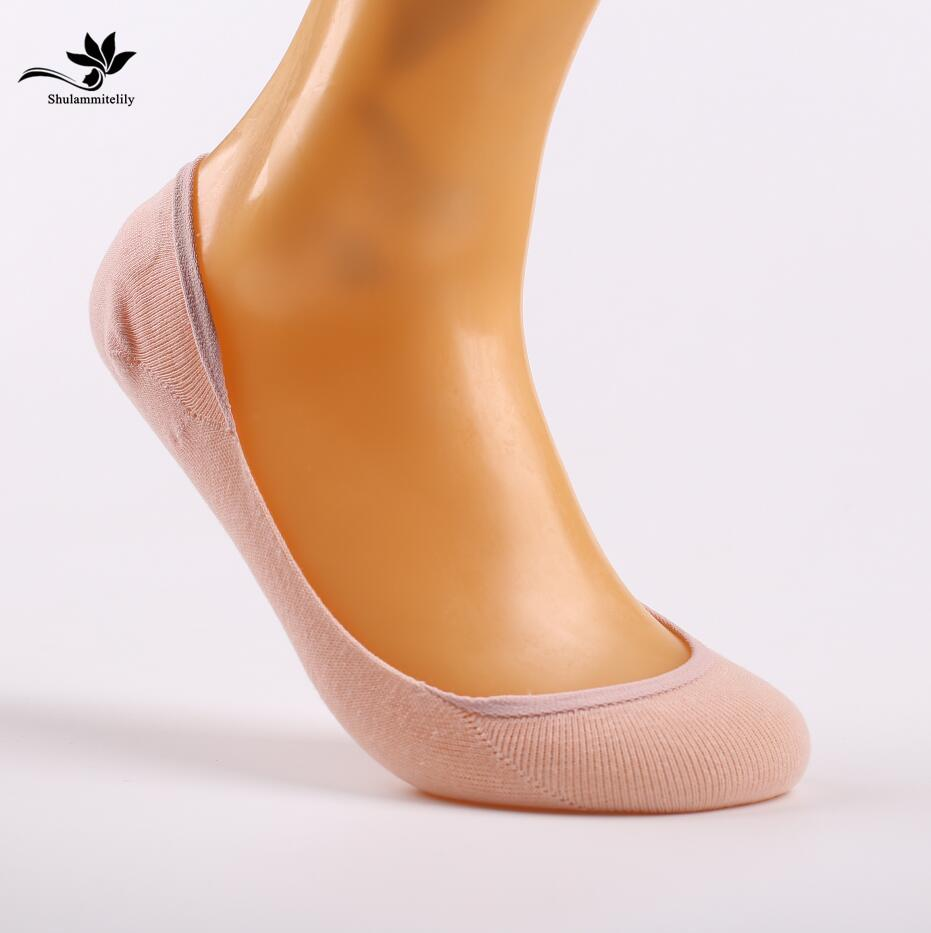 1f40adafeca38 2019 =Candy Colors Bamboo Fiber Cotton Women'S Ankle Socks Super Invisible  Sock Anti Slip Lady'S Female Woman Sox From Bishops, $36.05 | DHgate.Com