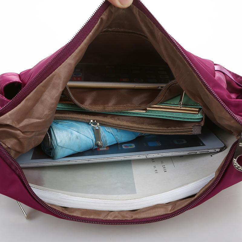 Female Messenger Bag Luxury Handbags Women Shoulder Bags Designer Bolsa Feminina Solid Nylon Waterproof Beach Bag Sac A Main