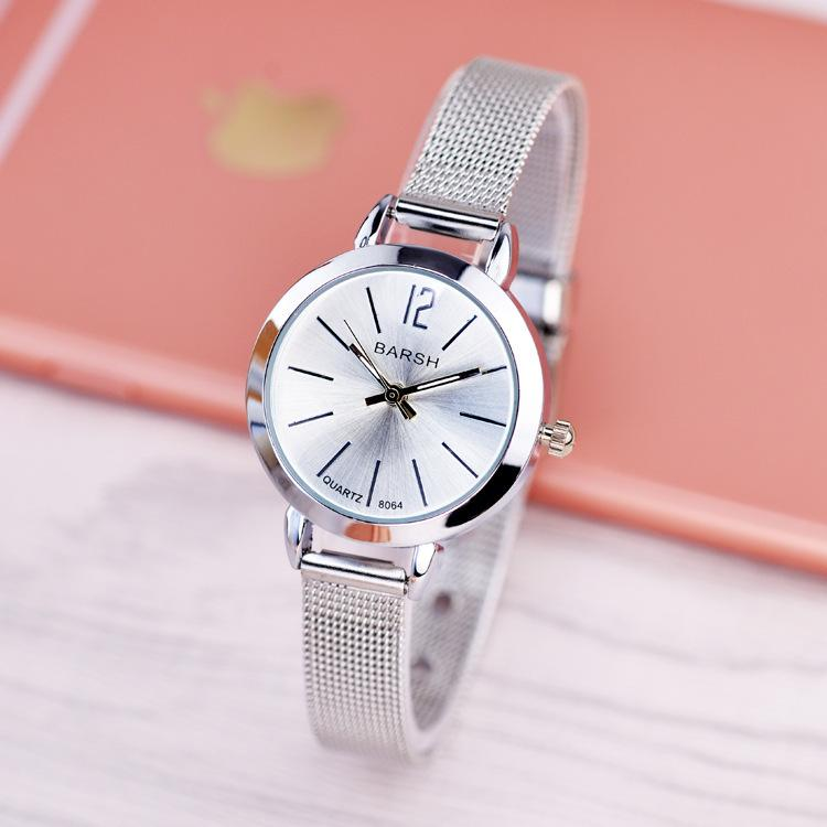 03dee6b983f Compre Relógios Mulheres Moda Relógio Marca De Luxo Relógio De Quartzo  Senhora Malha De Aço Inoxidável Das Mulheres Relógios Relogio Feminino  Relógio De ...