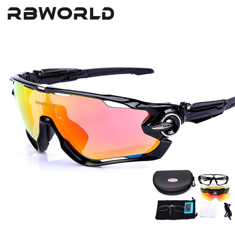 aa79b07dd5a JBR Jaw Lens Polarized Men MTB Cycling Sunglasses Eyewear Running ...
