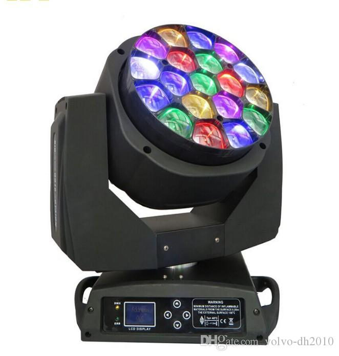 DMX512 LED BEAM Moving Head Bee Eyes per 19 X 15W rgbw 4 in 1 LED B-Eye 19 K10 Stage Light LLFA