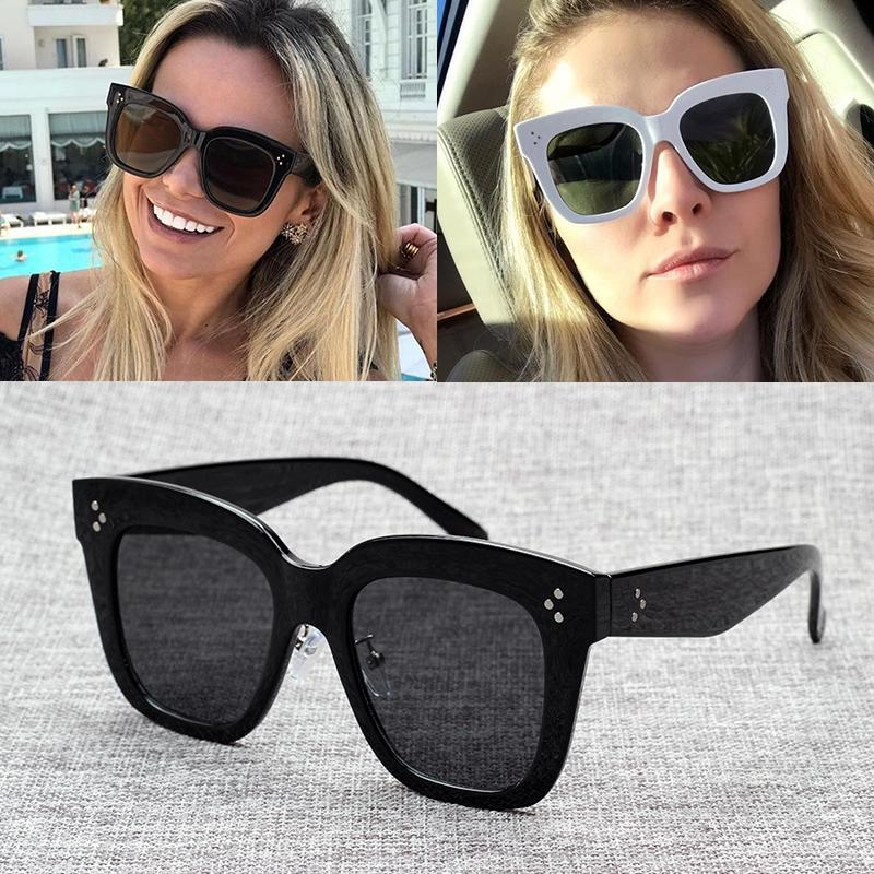 6550c230fddf JackJad New Fashion Women 41444 HAVANA Style Cool Square Sunglasses  Gradient Vintage Dots Brand Design Sun Glasses Oculos De Sol Mens Sunglasses  Police ...