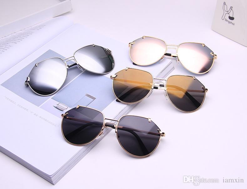 f7850d2f8a9f Cheap Korean Round Sunglasses Best Oversized Round Sunglasses Women Brown