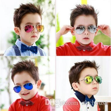 Children Girls Boys Sunglasses Kids Beach Supplies UV Protective Eyewear Baby Fashion Sunshades Glasses