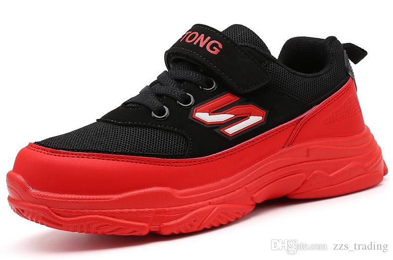 8a5a9f24b89c New Children Shoes Girls And Boys Sport Shoes Fashion Kids Sneakers  Breathable Running Shoes Comfortable Outdoor Non Slip Hot Products Kids  Basketball Shoes ...
