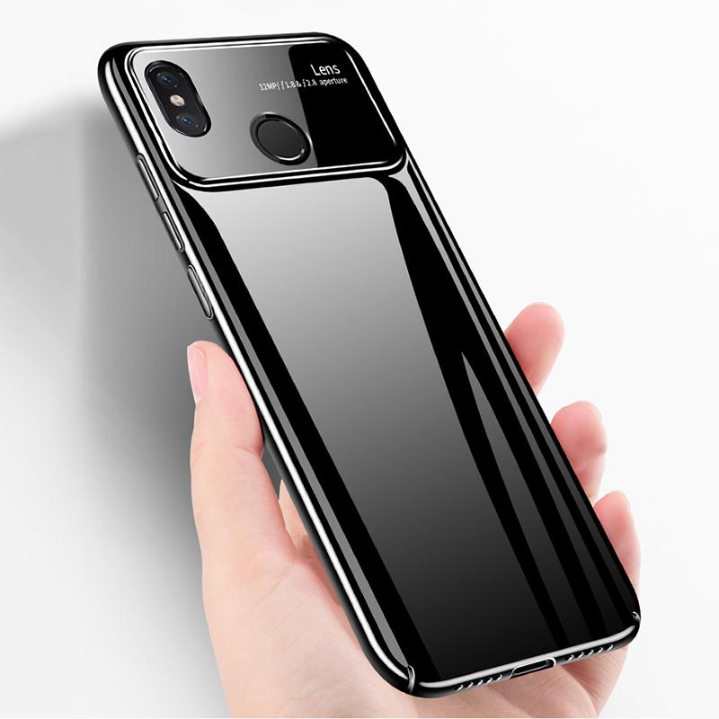 new styles fe10b 3bd93 For Xiaomi Mi 8 Case Mirror Tempered Glass Hard Plastic Back Housing Phone  Case