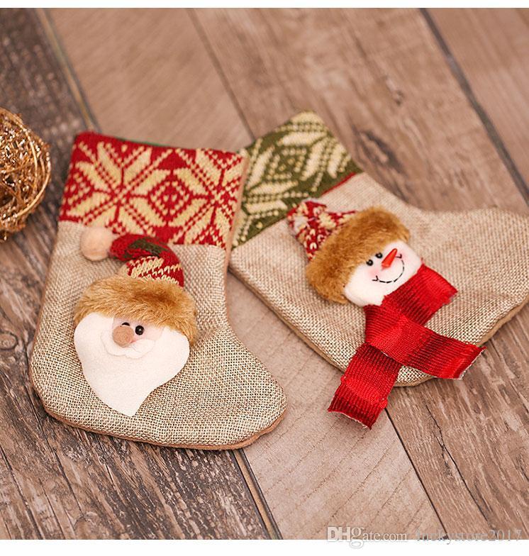 Top Quality Christmas Gift Bags Cloth Stocking Christmas Tree ...