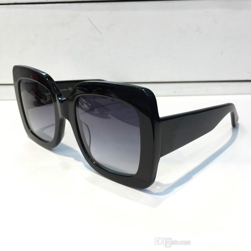 84adcf70c53 0083 Popular Sunglasses Luxury Women Brand Designer 0083S Square ...