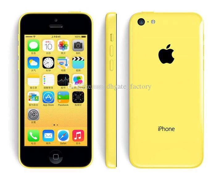 100% Original 4.0inch Apple iPhone 5C IOS8 4G LTE Unlocked Refurbished Smartphone Cell Phones