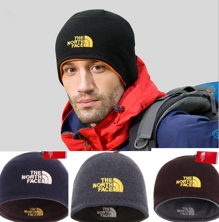 b74ede88768 2019 Unisex Brand NF Hat The North Reversible Beanie Winter Warm Men Women Skull  Caps Face Outdoor Skiing Snood Hats Warm Hip Hop Cap Gifts Sale From ...