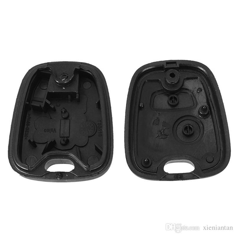 10 Teile / los Für Peugeot 206/306/106 2 taste Transponder Fernschlüsseloberteil S49