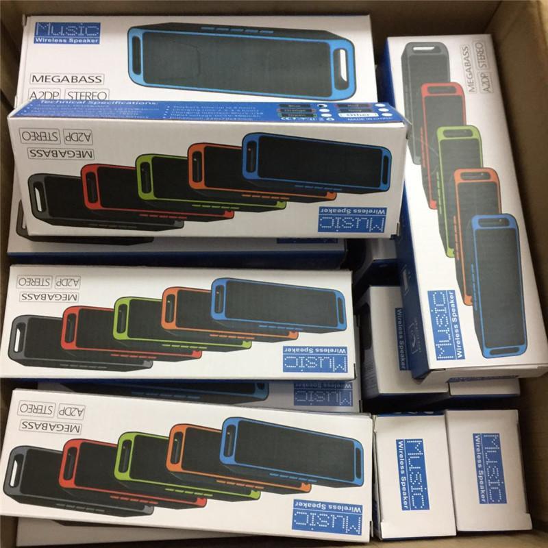 SC208 Musique Haut-parleur Bluetooth Portable Haut-parleur mains libres intelligent Haut-parleurs stéréo Subwoofer Supporte la radio FM et USB